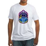 NASA STS-117 Fitted T-Shirt