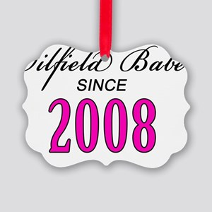 babesince2008 Picture Ornament