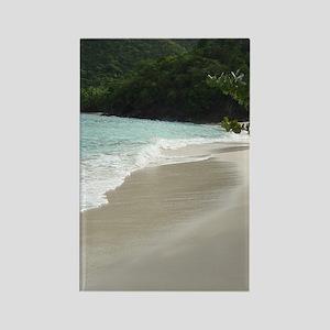 Beach on St.John Rectangle Magnet