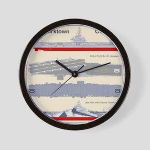 Essex-Yorktown-Back_3 Wall Clock