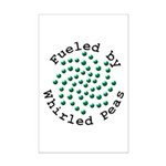 Fueled by Whirled Peas Mini Poster Print