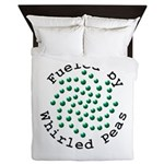 Fueled by Whirled Peas Queen Duvet