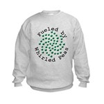 Fueled by Whirled Peas Kids Sweatshirt