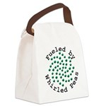 Fueled by Whirled Peas Canvas Lunch Bag