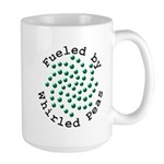 Fueled by Whirled Peas Large Mug