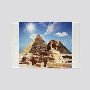Sphinx and Egyptian Pyramids Magnets