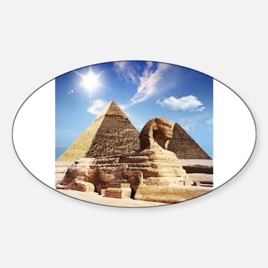Sphinx and Egyptian Pyramids Decal