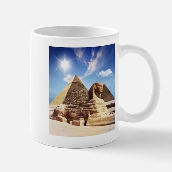 Sphinx and Egyptian Pyramids Mugs