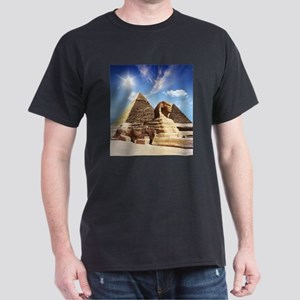 Sphinx and Egyptian Pyramids T-Shirt