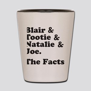 FACTSBLACK Shot Glass