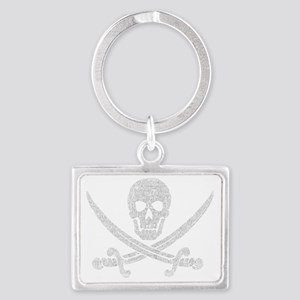 jolly_roger_2 Landscape Keychain
