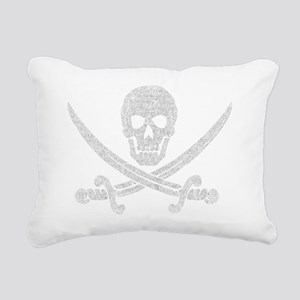 jolly_roger_2 Rectangular Canvas Pillow