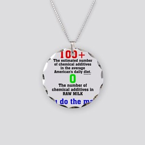You Do The Math Necklace Circle Charm