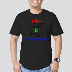 You Do The Math Men's Fitted T-Shirt (dark)