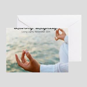 Living Lightly CD Greeting Card