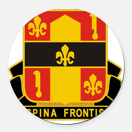 559th U.S. Army Artillery Group Round Car Magnet