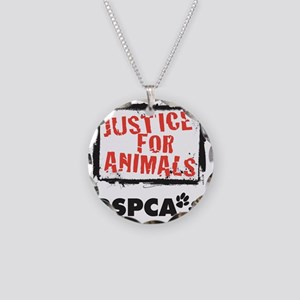 RSPCA Justice for Animals Necklace Circle Charm