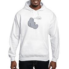 I'm a Manatee (JT) Hooded Sweatshirt