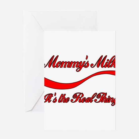 Mommy Milk Greeting Cards