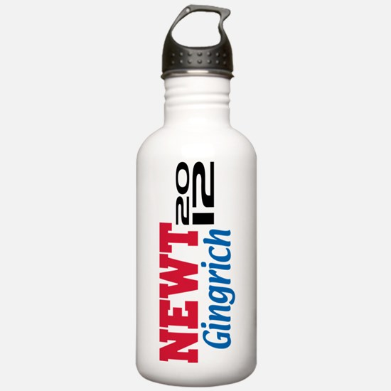 2012 Gingrich 5 Sports Water Bottle