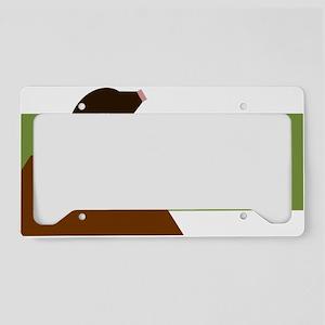 Mole License Plate Holder