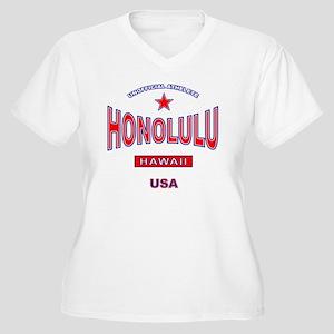 honolulu-center Plus Size T-Shirt