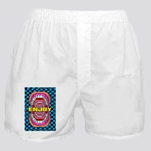 MOUTH_WIDE_OPEN_2x3_magnet (1) Boxer Shorts