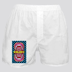 MOUTH_WIDE_OPEN_5x3_sticker Boxer Shorts