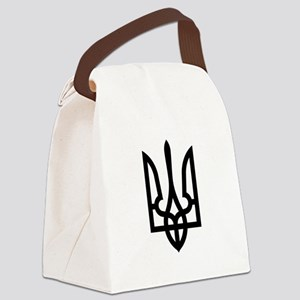 Tryzub (Black) Canvas Lunch Bag