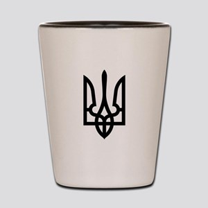 Tryzub (Black) Shot Glass