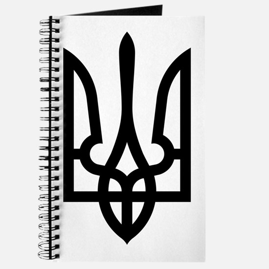 Tryzub (Black) Journal