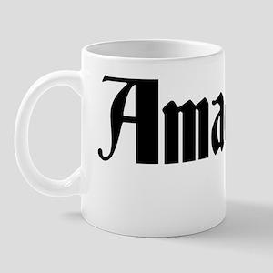Mozart T-shirt Mug