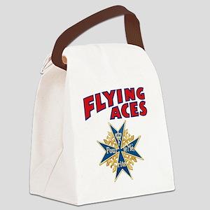 FAC_logo_ONE_4 Canvas Lunch Bag