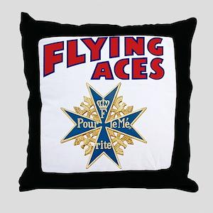 FAC_logo_ONE_4 Throw Pillow