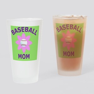 Baseball Mom Gift Buttons, Magnets, Drinking Glass
