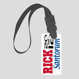 2012 Santorum 5 Small Luggage Tag