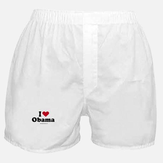 I Love Obama Boxer Shorts