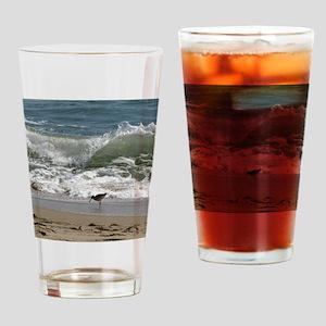 Kill Devil Hills Bird with Wave Drinking Glass