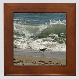 KDH_Bird_Wave_16x20_withCopyright Framed Tile