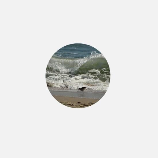 KDH_Bird_Wave_16x20_withCopyright Mini Button