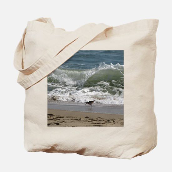 KDH_Bird_Wave_16x20_withCopyright Tote Bag