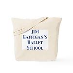 JG SCHOOL OF BALLET Tote Bag