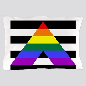 Straight Ally flag Pillow Case