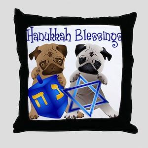 Hanukkah Blessings Throw Pillow