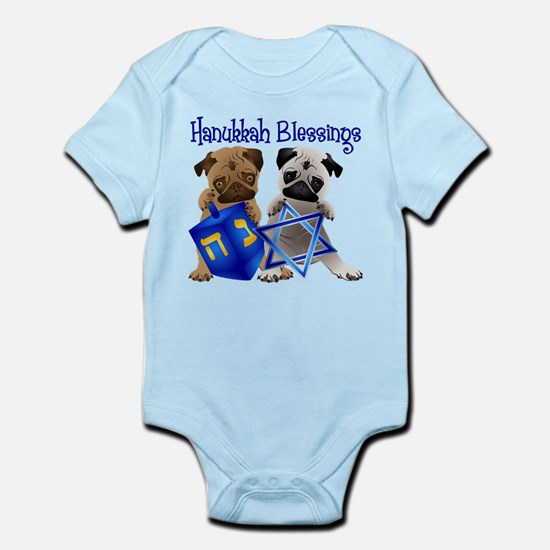 Hanukkah Blessings Infant Bodysuit