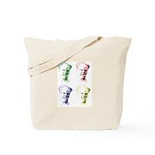 Crazy Jim Head Tote Bag