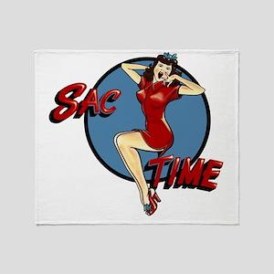 B-52G 58-0164 SAC Time Throw Blanket