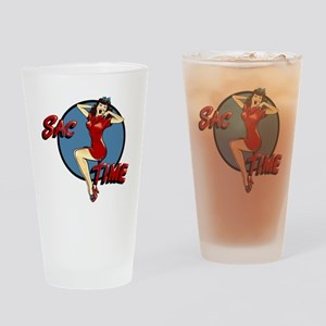 B-52G 58-0164 SAC Time Drinking Glass