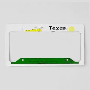 Texas Tom The Iguanadoon In B License Plate Holder