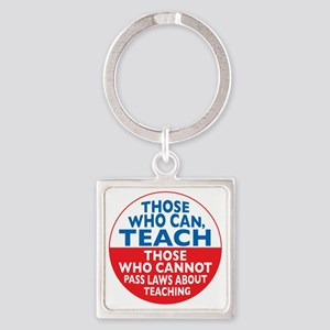 who can teach Circle Square Keychain